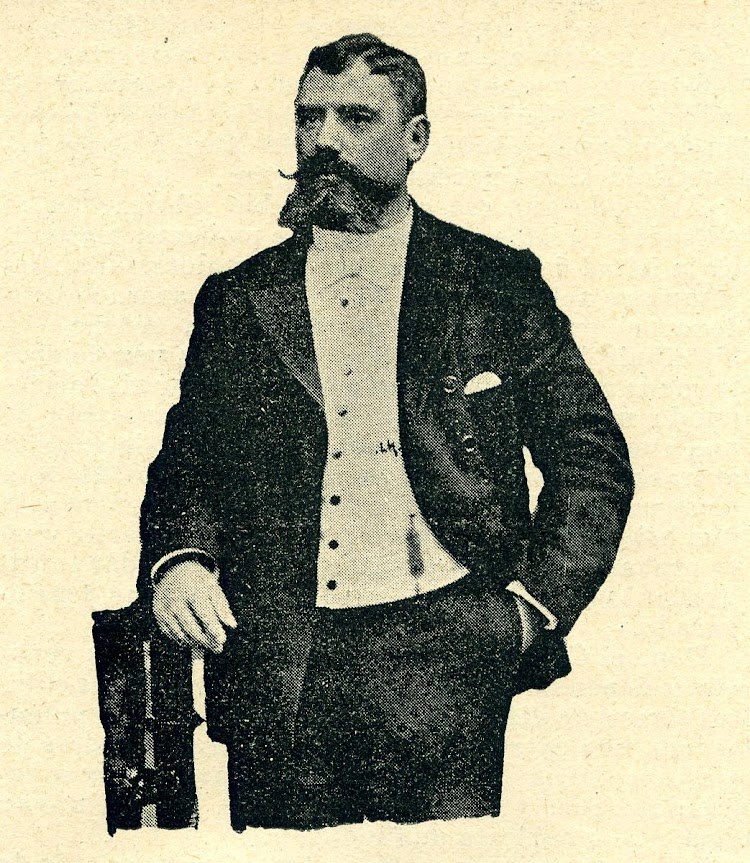 El Capitán D. Juan B. Abrizqueta. De la Revista de Navegación y Comercio. Año 1894.JPG