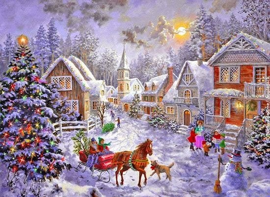 Paisajes De Navidad Hermosos - Positivo Siempre : Hermosos paisajes de navidad con