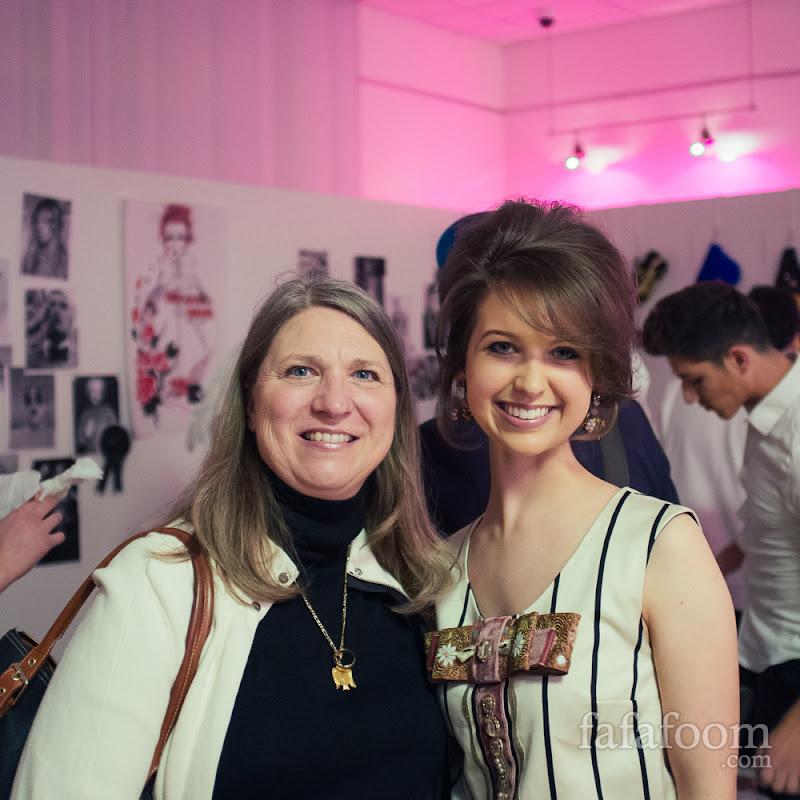 Lauren Barisic and her mom