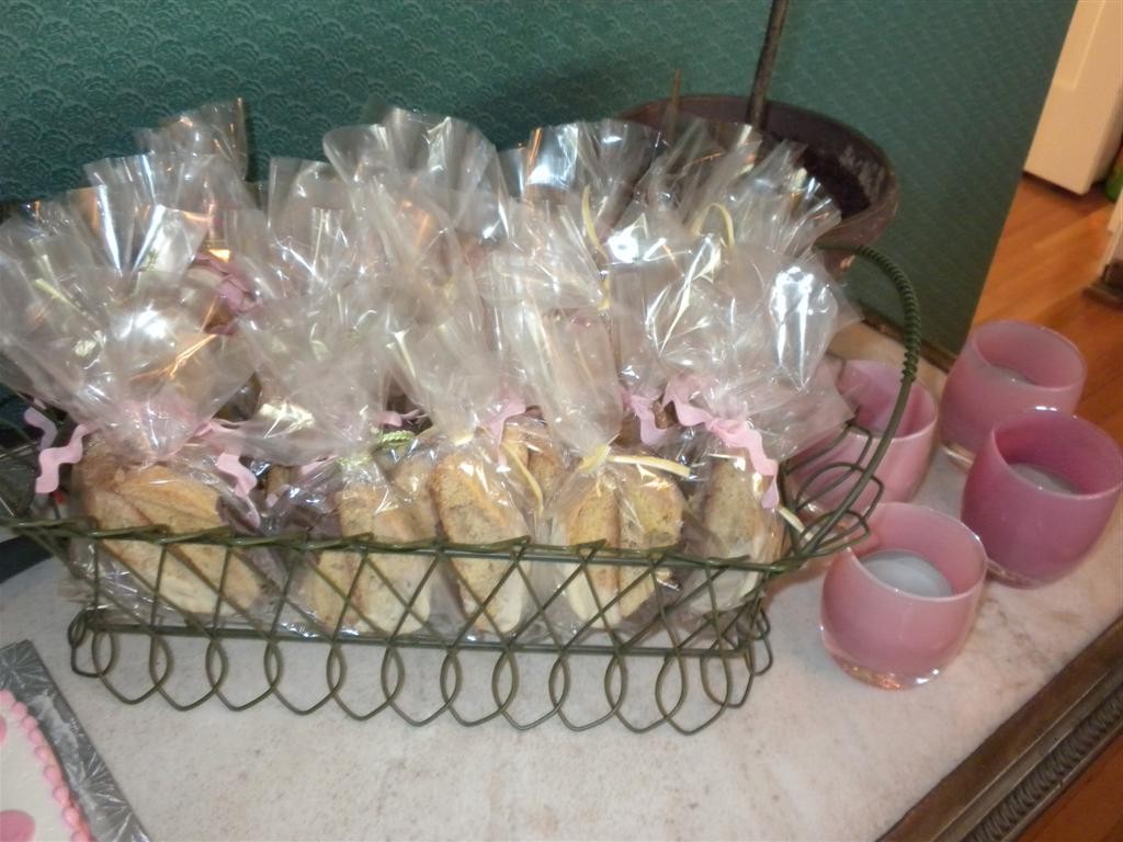 homemade wedding shower favors