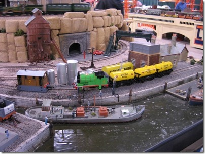 IMG_0680 Bachmann HO-Scale Thomas the Tank Engine Display Layout at the WGH Show in Puyallup, Washington on November 21, 2009