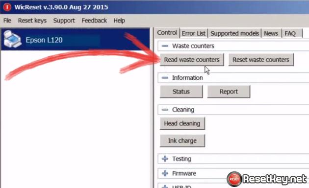 Ink Reset Keygen Software License