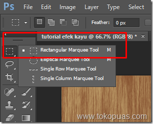 tutorial membuat efek kayu photoshop element