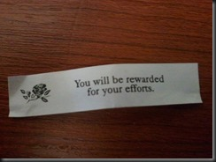 Can a cookie fortune make all the difference?