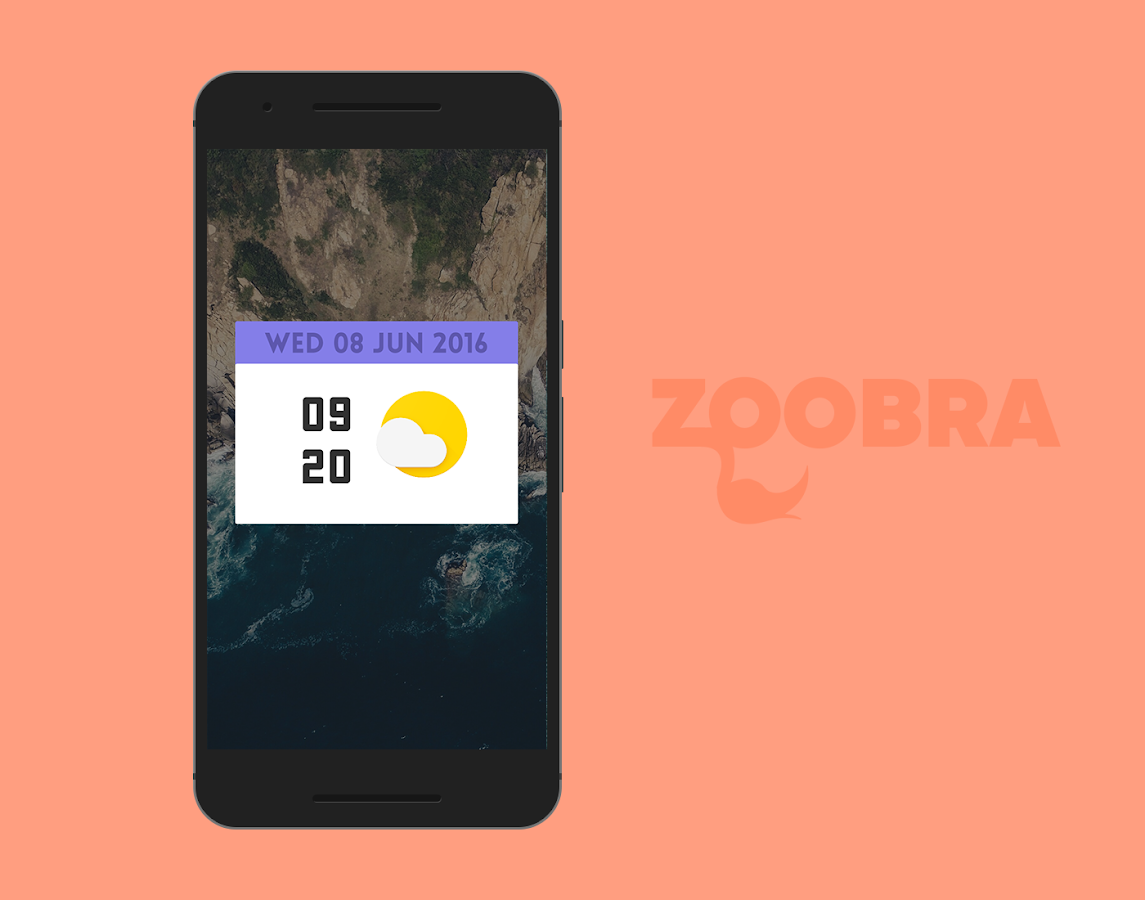 Zoobra Widgets Screenshot 4
