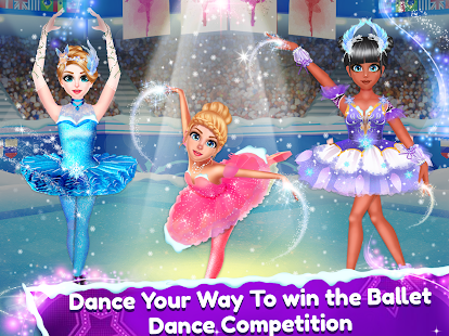 Ice Ballerina Dancing Battle: Dress Up Games for pc