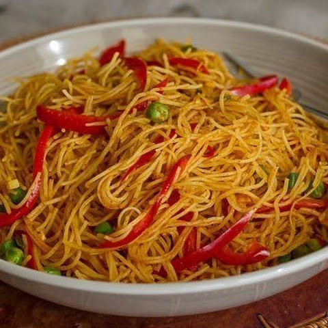 Curried Singapore Rice Noodles