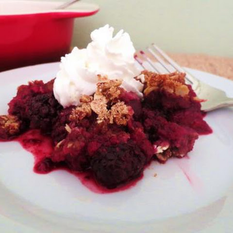 Berry Fruit Crumble