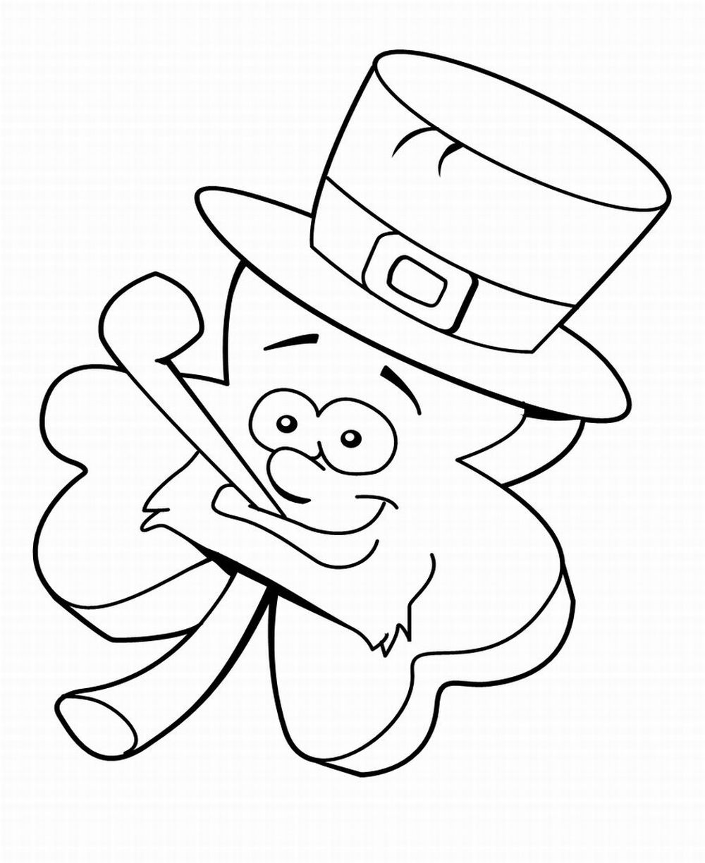 leprechaun coloring pages - St Patrick's Day Leprechaun Free Printable Coloring Pages