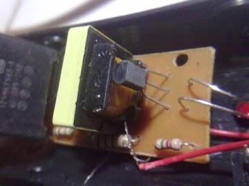 Raket Nyamuk dengan transistor C945