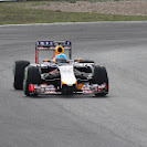 Sebastian Vettel RB10 first run