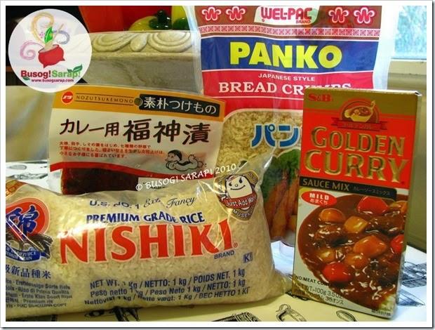katsu curry ingredients© BUSOG! SARAP! 2010
