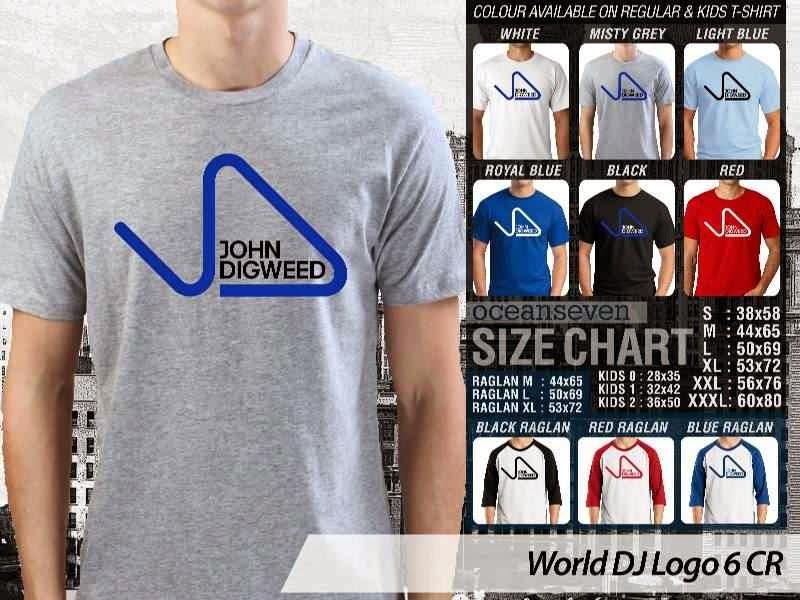KAOS Musik DJ 6 John Digweed distro ocean seven