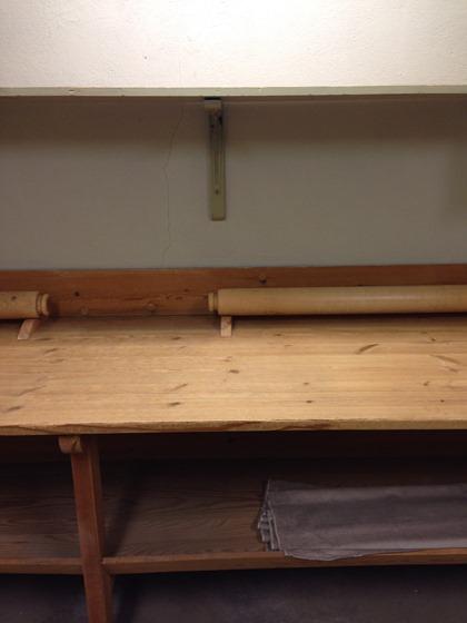 bord med rular