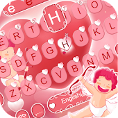 Download Cupids Affairs Lovely Free Emoji Keyboard Theme APK for Android Kitkat