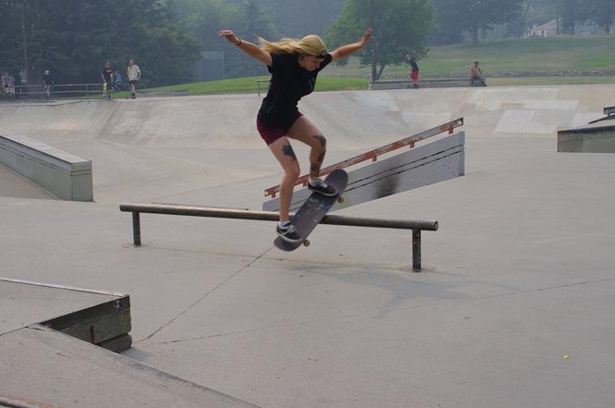Lion's Skatepark in Saskatoon