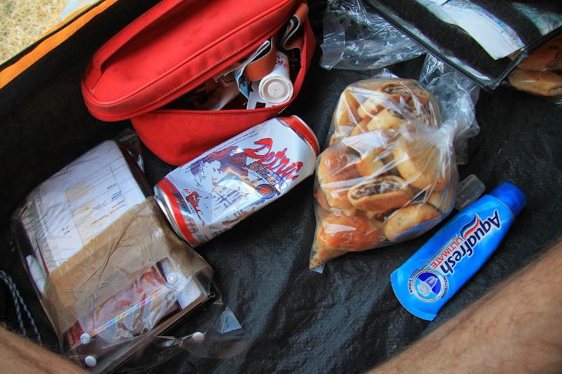 darowane ciastka i piwo Jordańskie Petra
