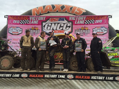 UTV XC1 Pro Class Podium at GNCC Ironman