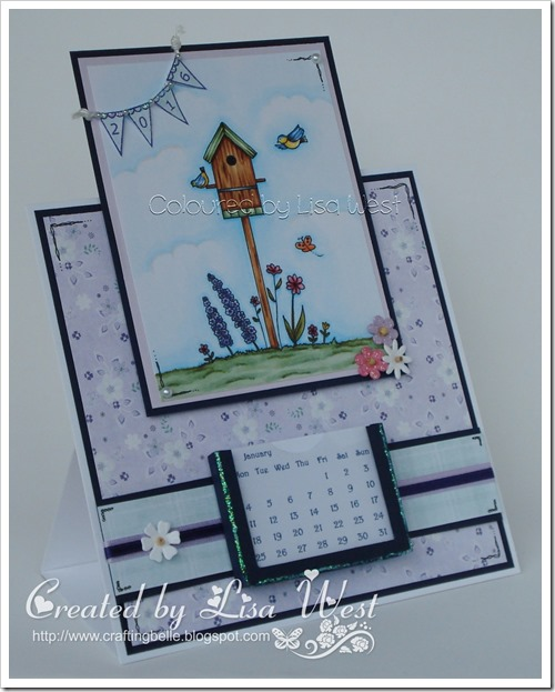 Birdhouse Flowers  (5)