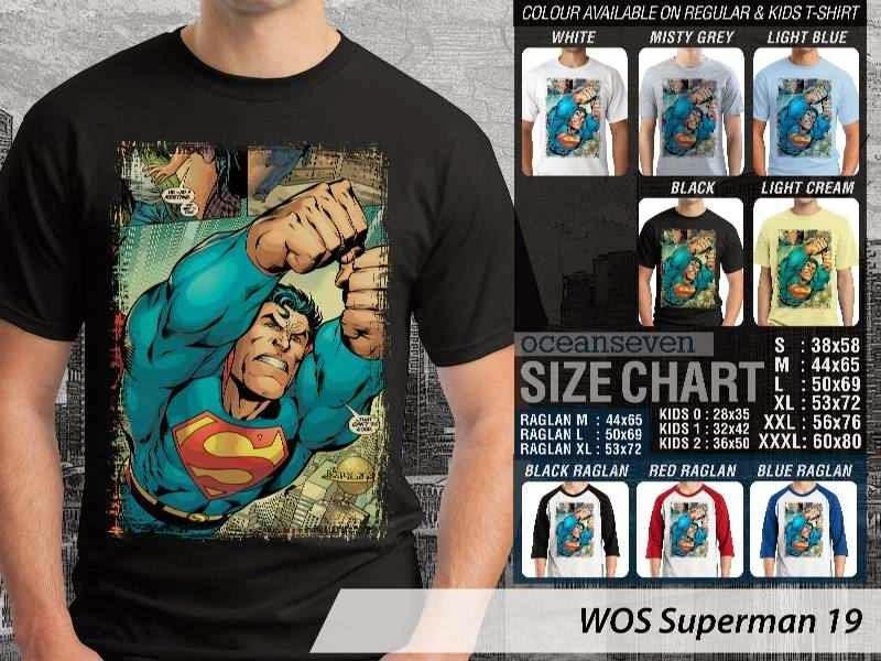KAOS superman 19 Movie Series distro ocean seven