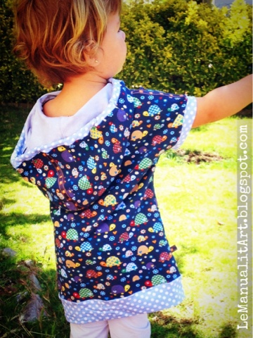 vestido/camiseta para niños