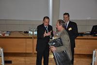 Losowanie nagród - szczęśliwy uczestnik K. Czogała