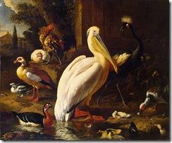 Melchior_de_Hondecoeter_Birds_in_a_Park_1686