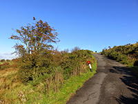 The Road Down From The Roaches