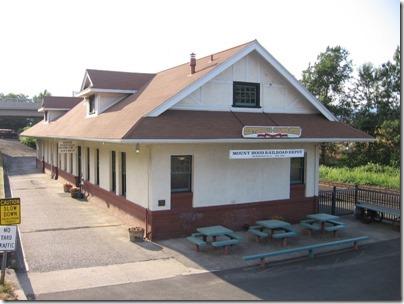 IMG_6592 Mount Hood Railroad Depot in Hood River, Oregon on June 10, 2009