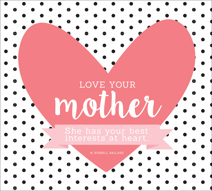 Love your Mother Printable