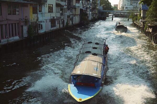 канал лодка бангкок