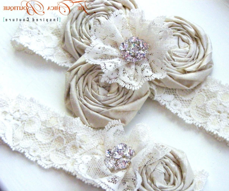 Vintage Romance Bridal Garter
