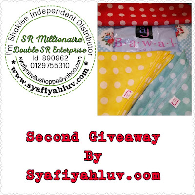Giveaway 2015 By Syafiyahluv.com