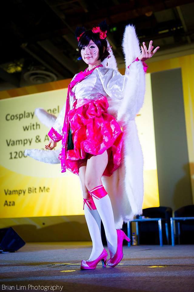 Miyuko khoe cosplay Ahri tại STGCC 2013 - Ảnh 1