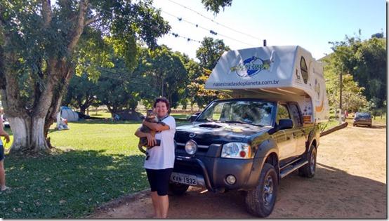 Estacionados no camping dona esmeralda