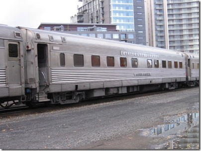 IMG_9786 California Zephyr 10-6 Sleeping Car #8449 Silver Rapids at Union Station in Portland, Oregon on October 21, 2009