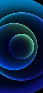 Dark Blue Wallpaper iPhone 12