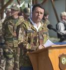 Matteo Renzi in Afganistan