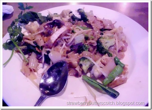 Mixed Vegetables with Rice Noodles