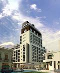 Fachada del Hotel Pulitzer, recientemente inaugurado en Buenos Aires. Gentileza: Hotel Pulitzer.
