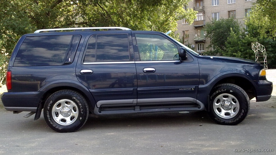 2002 Lincoln Navigator Suv Specifications Pictures Prices