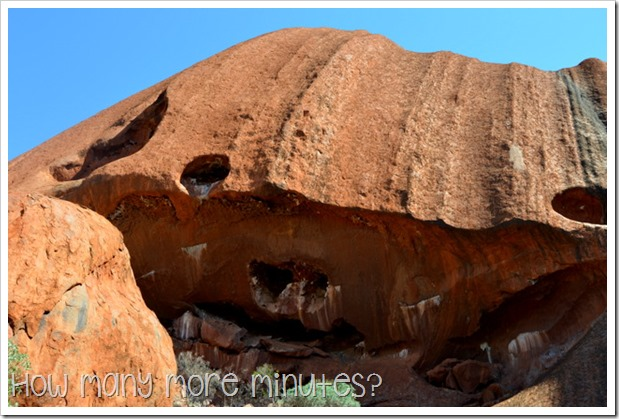 Bike Ride Around Uluru | How Many More Minutes?