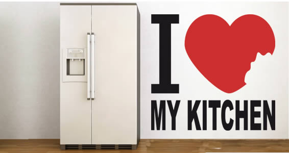 Kreativer Liebesbeweis für die Küche