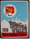 TESSERA PCI 1958