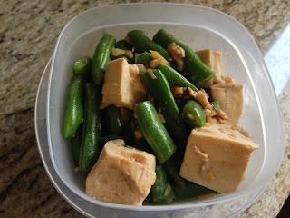 Tofu & Green Beans