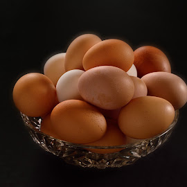 Eggs in bowl by Rocky Long - Food & Drink Meats & Cheeses ( farm, eggs, protein, healthy, cooking )