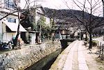 Philosopher's Path, Kyoto, Japan.