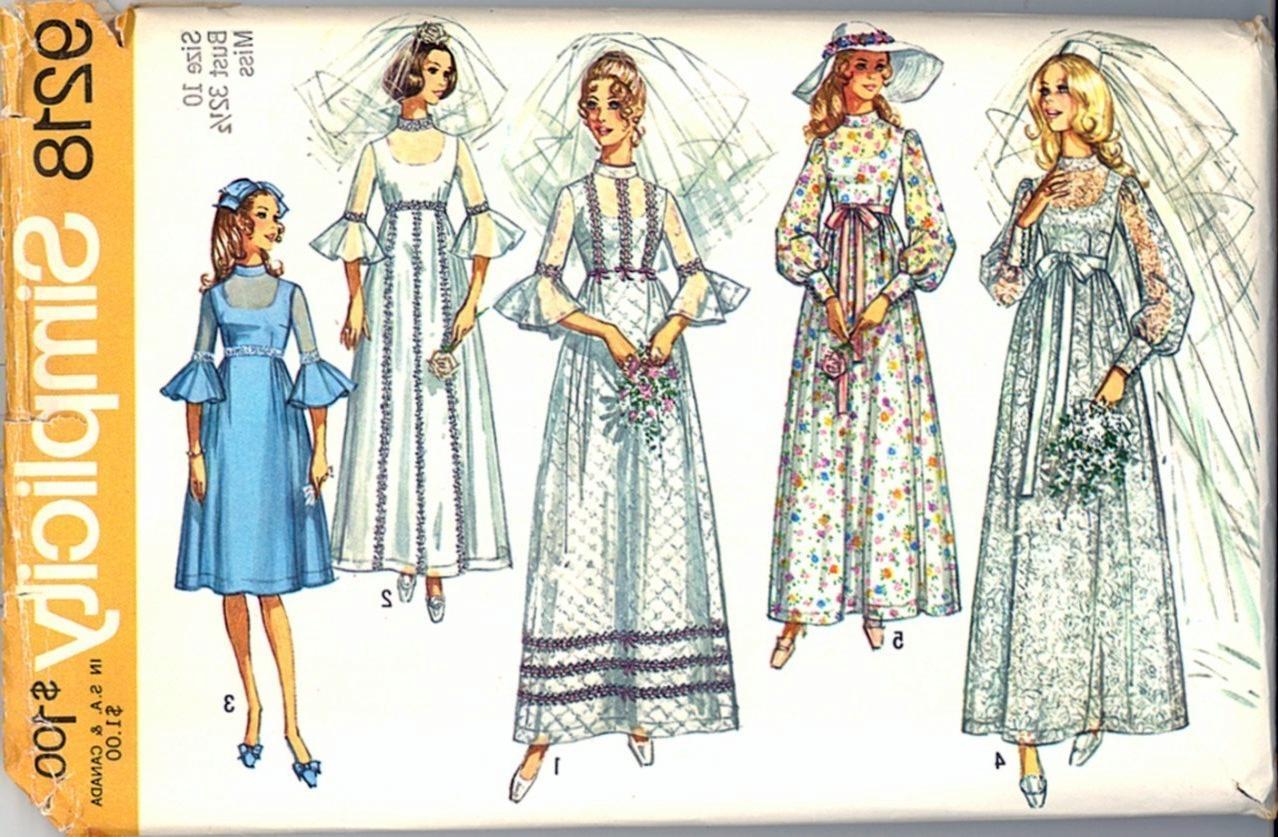 free wedding dress patterns to