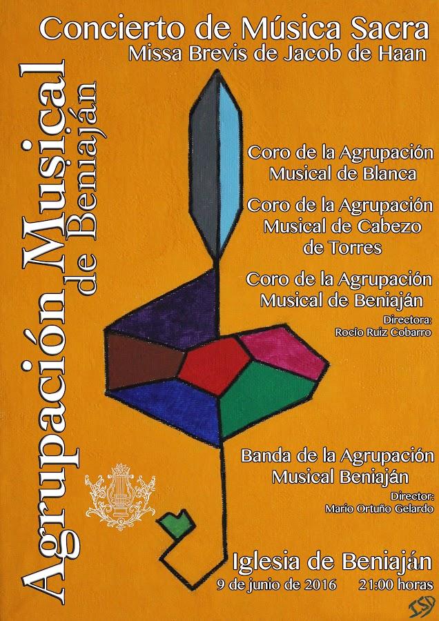 Cartel Concierto Música Sacra