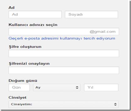 gmail-hesap-açma